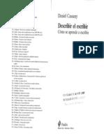 daniel cassany describir el escirbir pdf
