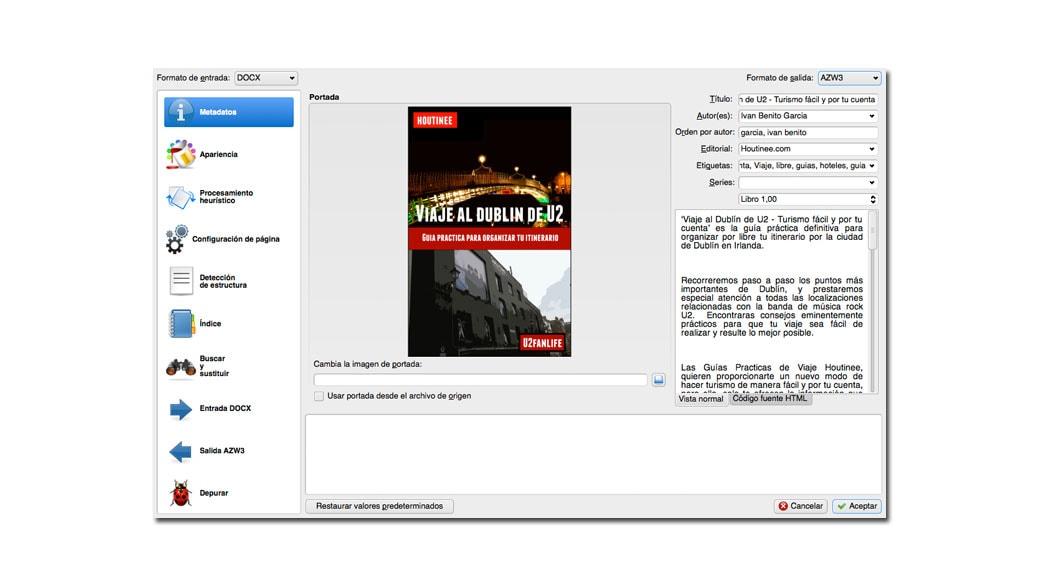 como convertir un archivo pdf a kindle 5