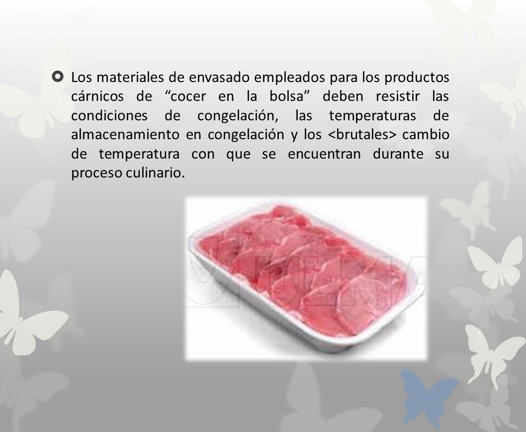 carnes congeladas condiciones de almacenamiento