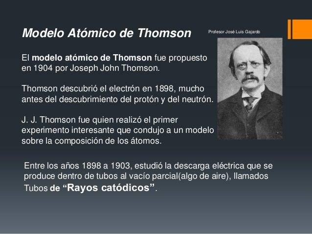 biografia de jj thomson pdf