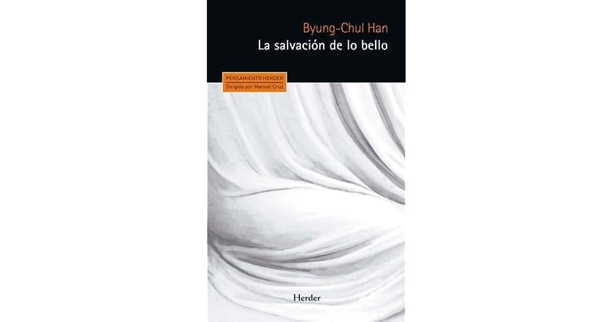 byung chul han la salvación de lo bello pdf