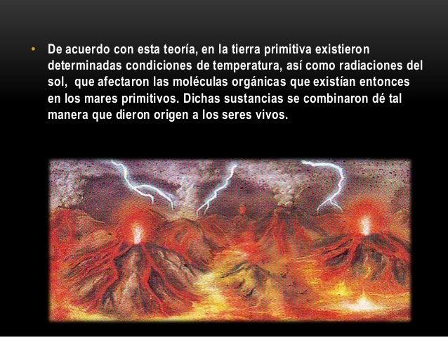 como eran las condiciones de la tierra primitiva