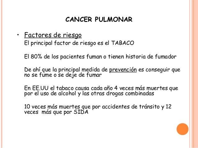 cancer de pulmon tratamiento pdf