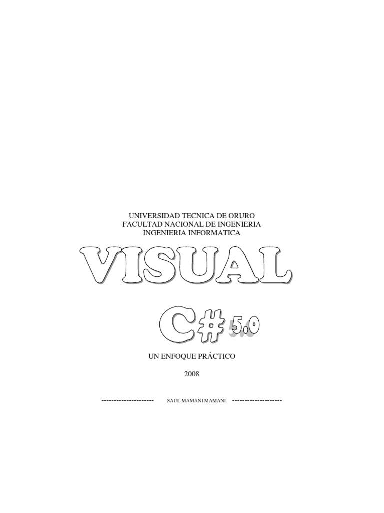 crear documentos en pdf visual studio c