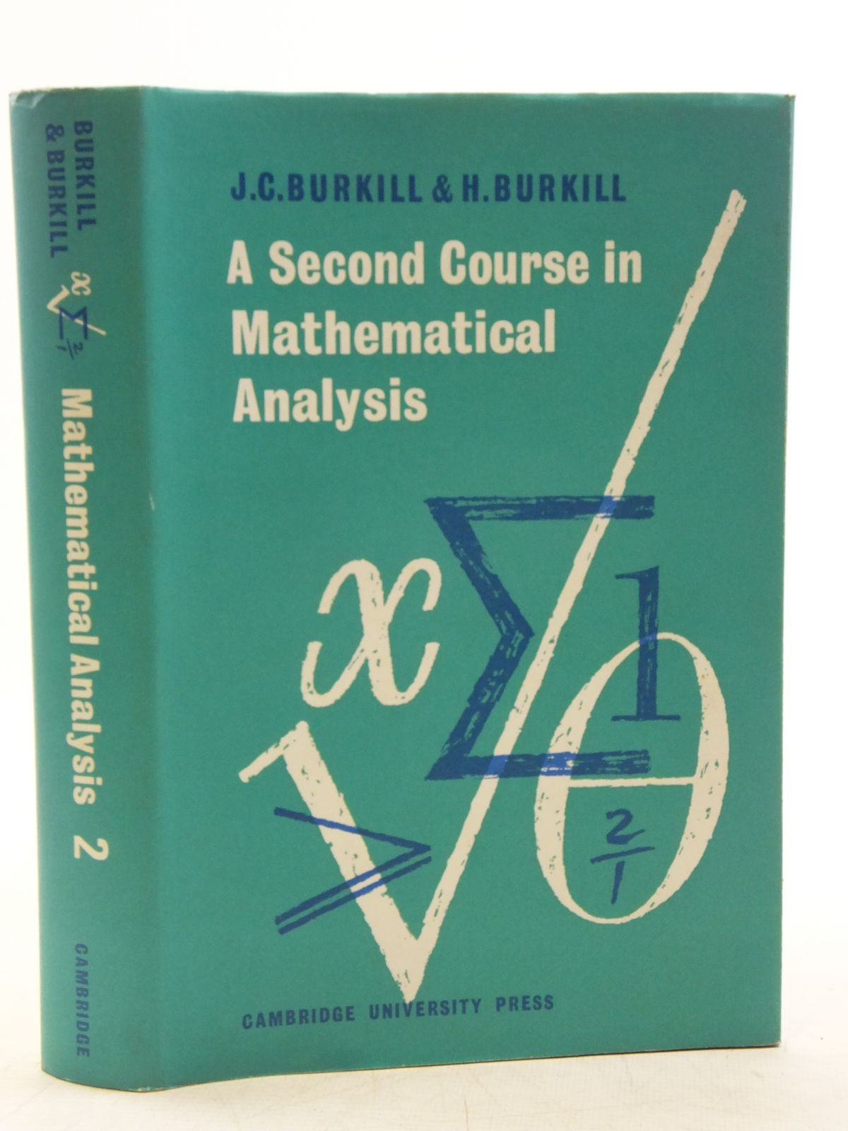 a second course in mathematical analysis burkill pdf