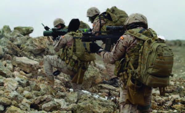 curso especial de instrucción militar en el ejército