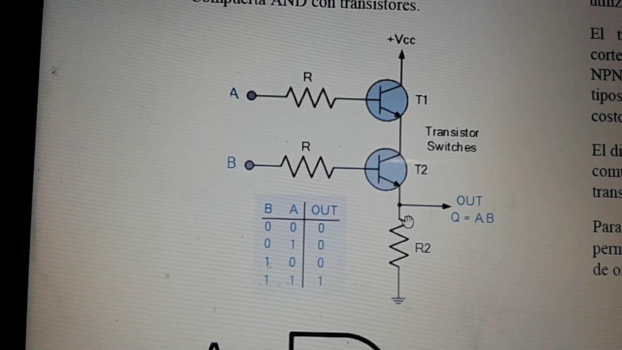 compuertas logicas con transistores pdf
