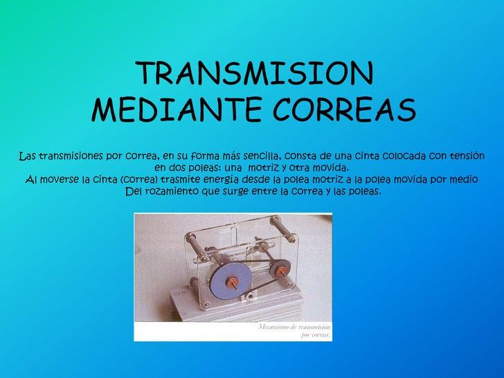 condiciones de una transmision aeronautica