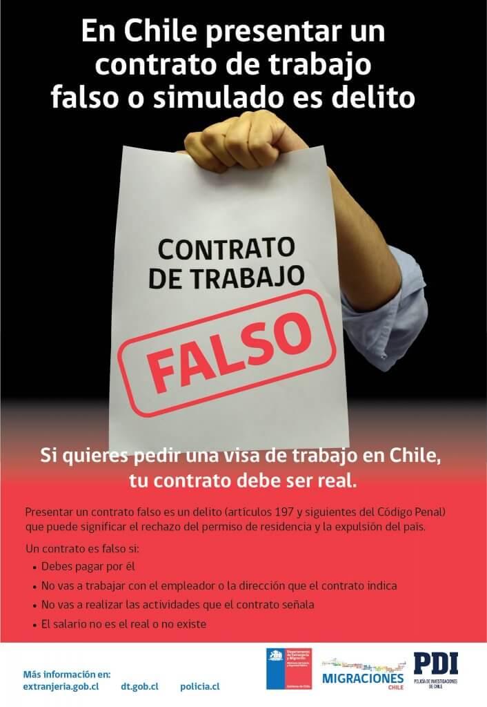 contrato a extranjeros chile pdf