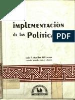 a implementacion de las politicas aguilar pdf