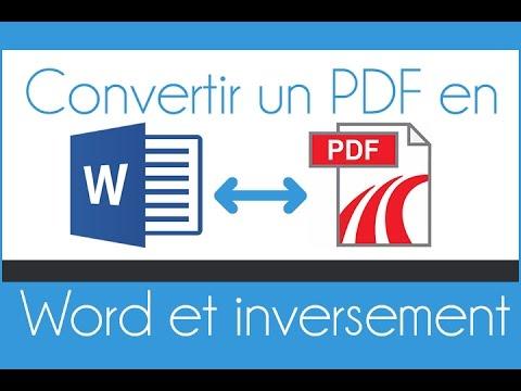 como transofrmar pdf a word