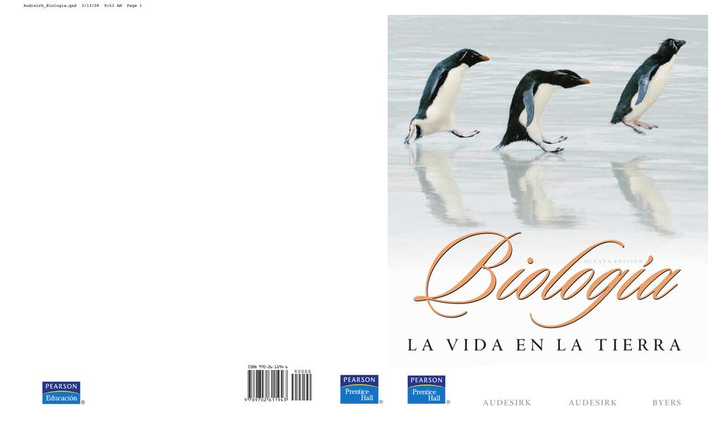audesirk biologia la vida en la tierra 9 edicion pdf