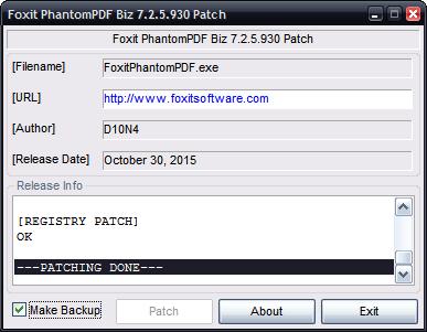 codigo activacion foxit pdf editor