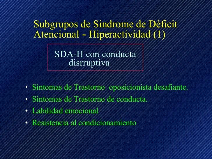 deficit atencional con hiperactividad pdf dsm