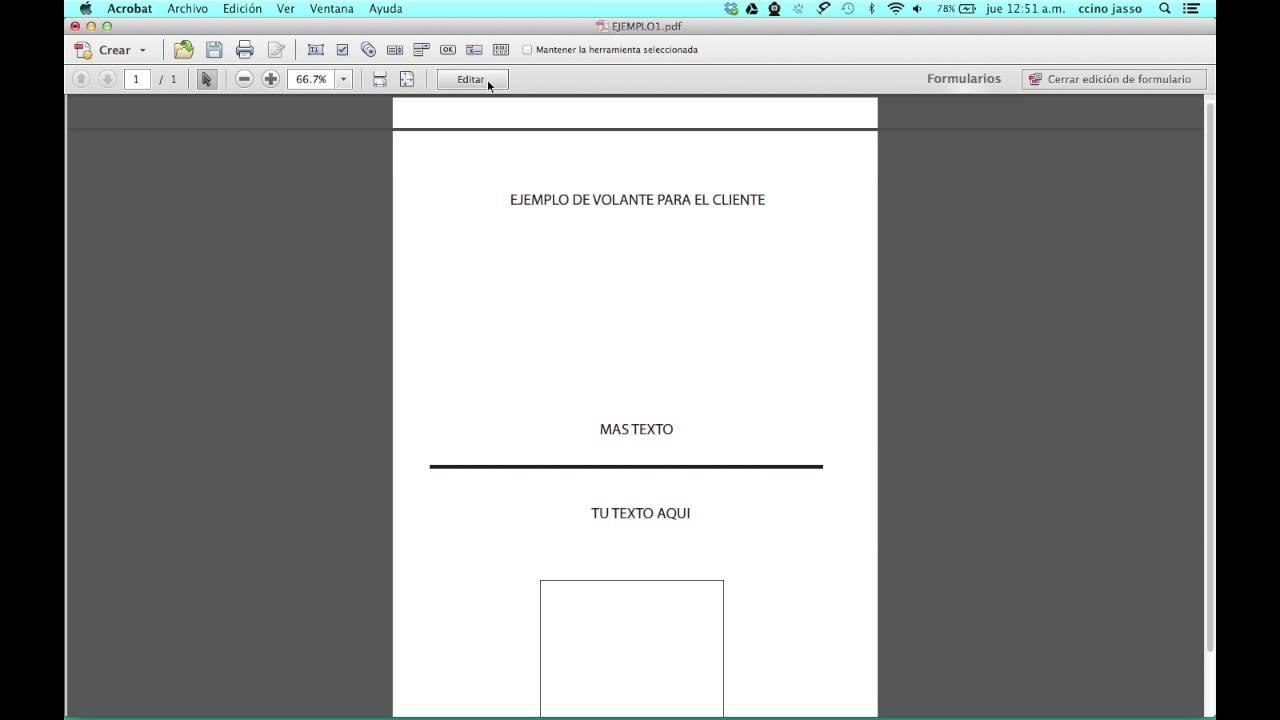 como cortar un pdf en acrobat