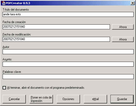 como sacar clave de archivo pdf