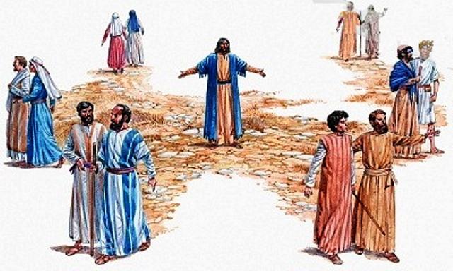 a los doce envió jesús y les dio instrucciones
