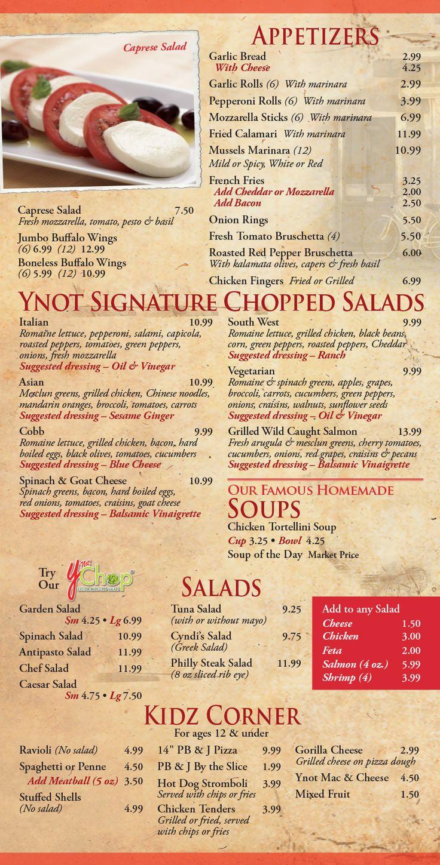 a restaurant menu exercises pdf