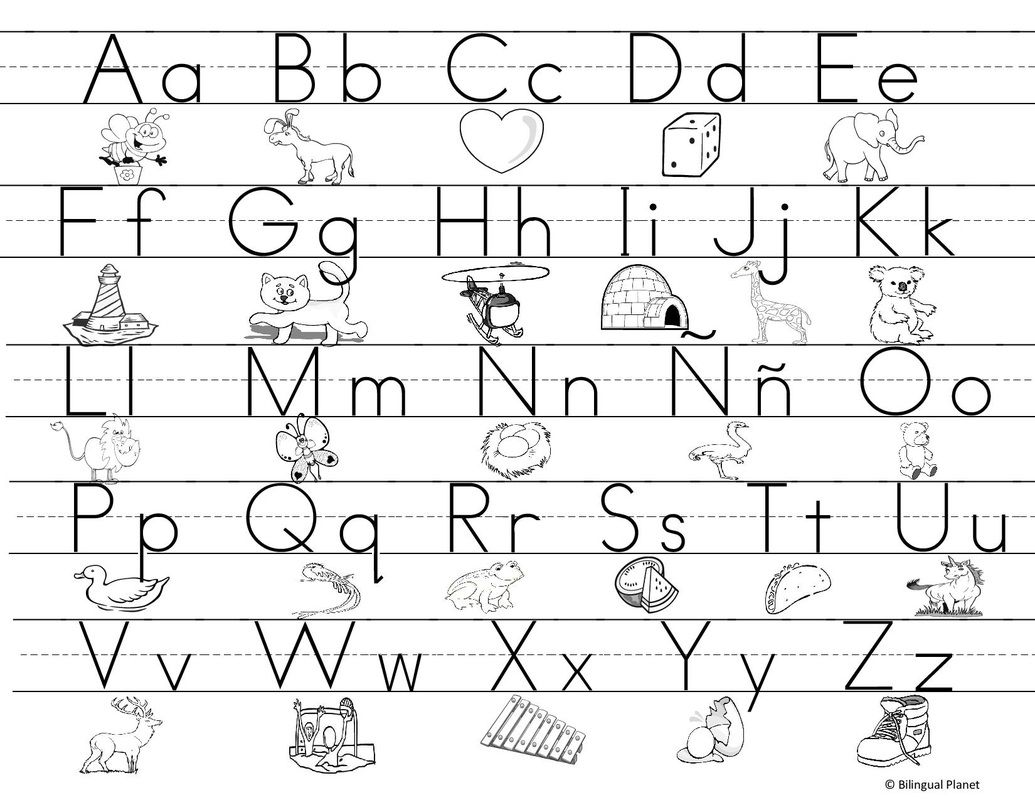 abecedario para imprimir pdf print