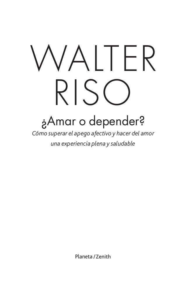 amar o depender walter riso pdf