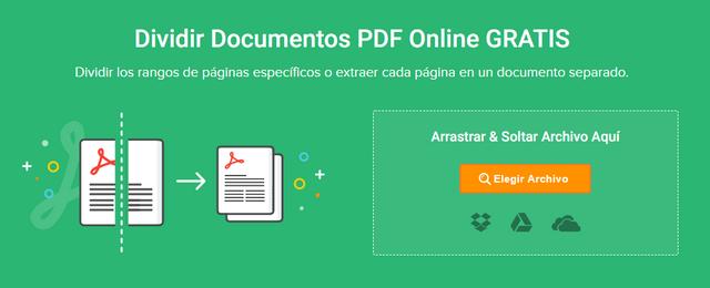 archivo pdf dividirlo en 2