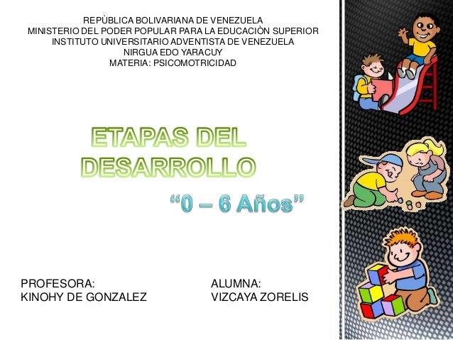 desarrollo evolutivo del niño de 3 a 6 años pdf