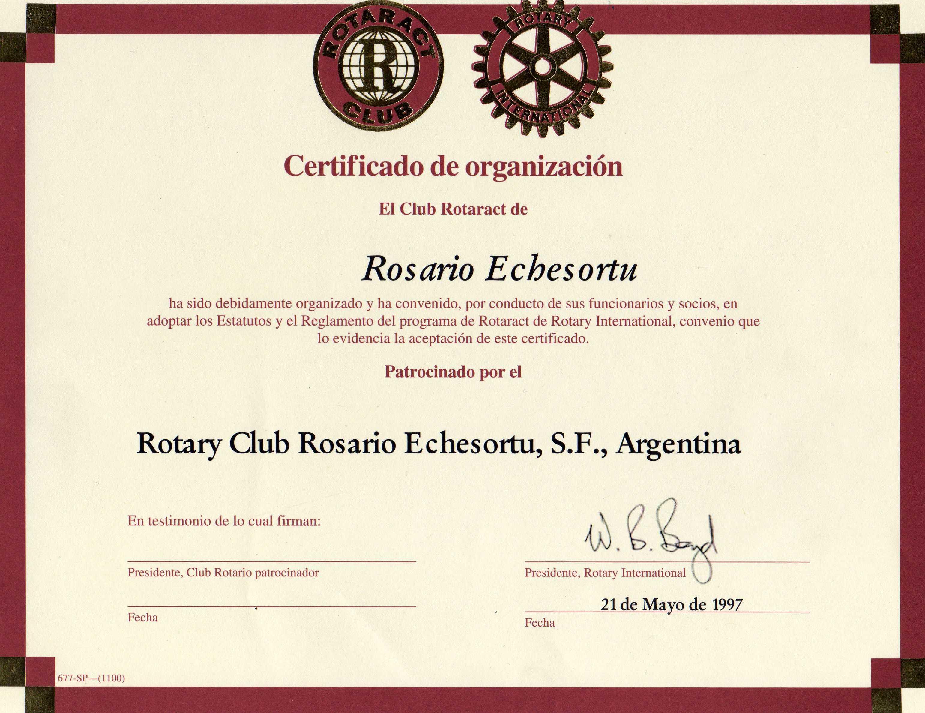 certificado de integración de socios pdf