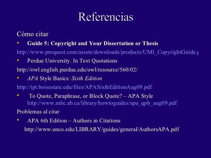 citar un pdf en el texto