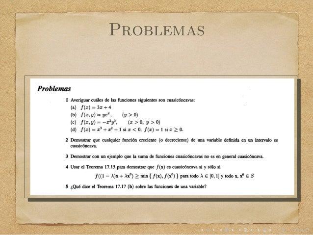 condiciones de determinante en hessiano orlado