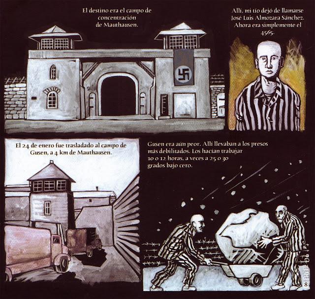 condiciones de vida de los campos de concentracion