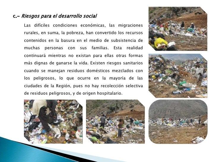 condiciones económicas en la gestión de los residuos sólidos urbanos