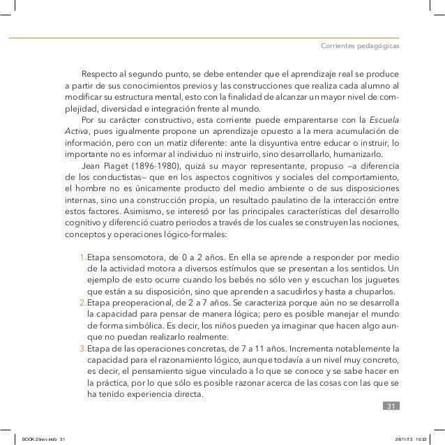 confrontar las ideas y preconceptos que se enseña pdf