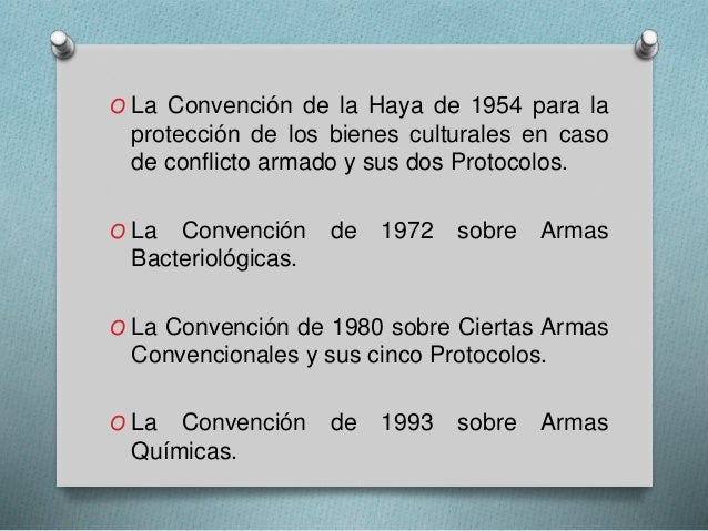 convención sobre ciertas armas convencionales pdf